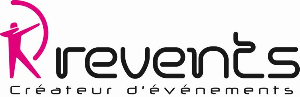 logo agence événementielle revents
