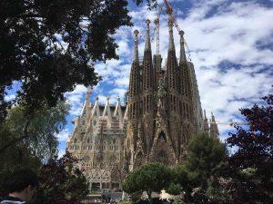 Revents à Barcelone Sagrada Familia