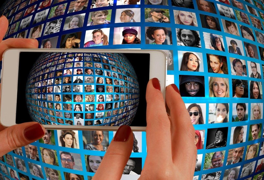 Evenement virtuel sur smartphone